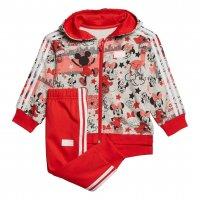 Imagem - Conjunto de Agasalho Jogger Infantil Minnie Mouse Adidas Menina Gd3722  - 060245