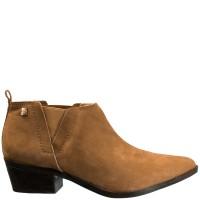 Imagem - Ankle Boot Feminina Loucos e Santos Nobuck L51068003 A01 - 053180