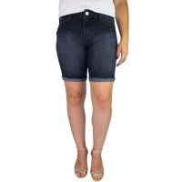 Imagem - Bermuda Jeans Feminina Ellus Second Floor Biket Fit 19sf408  - 052462