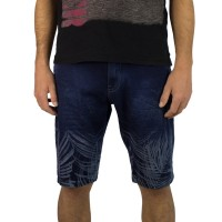 Imagem - Bermuda Jeans Masculina Dixie 17.01.1959  - 052286