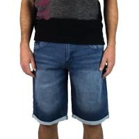 Imagem - Bermuda Jeans Moletom Gangster 17.01.1841  - 052253