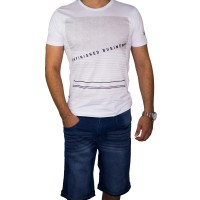 Imagem - Bermuda Jeans Moletom Masculina Gangster 17.01.1731  - 052252
