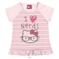 Imagem - Blusa Infantil Hello Kitty Manga Curta Malha 0801.87352 - 051146