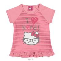 Imagem - Blusa Infantil Hello Kitty Manga Curta Malha 0801.87352 - 051147