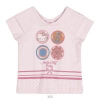 Imagem - Blusa Infantil Bebê Hello Kitty Manga Curta 0850.87259  - 051086