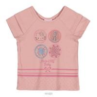 Imagem - Blusa Infantil Bebê Hello Kitty Manga Curta 0850.87259  - 051087