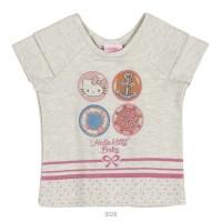 Imagem - Blusa Infantil Bebê Hello Kitty Manga Curta 0850.87259  - 051085