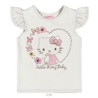 Imagem - Blusa Infantil Bebê Hello Kitty Manga Curta 0850.87271  - 051096