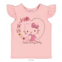 Imagem - Blusa Infantil Bebê Hello Kitty Manga Curta 0850.87271  - 051095