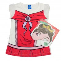 Imagem - Blusa Infantil Hering Kids + Livro de Máscaras 5c94nmc10  - 043944