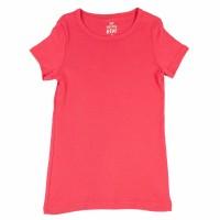 Imagem - Camiseta Infantil Feminina Hering Kids Básica 5c97kgh07  - 050617