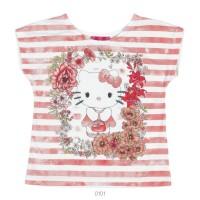 Imagem - Blusa Infantil Feminina Hello Kitty Estampada 0801.87295  - 051566