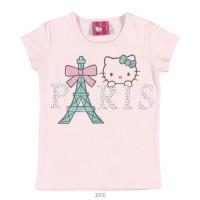 Imagem - Blusa Infantil Hello Kitty Manga Curta 0801.87345 - 051133