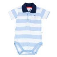 Imagem - Body Bebê Masculino Hering Kids Listrado Gola Polo 586m2e00 - 050271