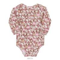 Imagem - Body Infantil Bebê Hello Kitty Suedine Manga Longa 0851.87255  - 051561