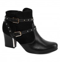 Imagem - Bota Ankle Boot Comfortflex 1697302 - 047311