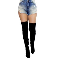 Imagem - Bota Over The Knee Via Marte Suede Strech 17-5704  - 053131