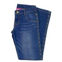 Imagem - Calça Jeans Infantil Hello Kitty 0360.86938  - 041965
