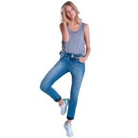 Imagem - Calça Jeans Feminina Ana Hickmann Cigarrete 21083  - 053282