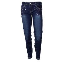 Imagem - Calça Jeans Infantil Hello Kitty 0360.87181  - 048079
