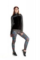 Imagem - Legging Rosa Tatuada Sublimada 415202  - 048250