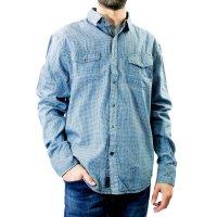 Imagem - Camisa Jeans Masculina Dixie - 057836
