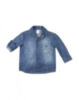 Imagem - Camisa Jeans Bebê Menino Hering Kids C25rjelus  - 054279