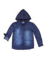 Imagem - Camisa Jeans Infantil Hering Kids C25xjelus  - 054755