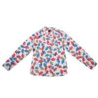 Imagem - Camisa Infantil Feminina Hering Kids C73cq21gwe  - 036465