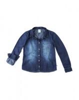 Imagem - Camisa Jeans Infantil Hering Kids C75tjelus - 055076