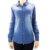 Imagem - Camisa Jeans Feminina Mosaico 15.37.0005  - 055356