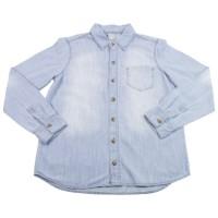 Imagem - Camisa Jeans Infantil Masculina Hering Kids C250jekzk - 051606