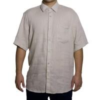 Imagem - Camisa Masculina Luiz Eugenio Linho Manga Curta 14007  - 038441