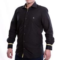 Imagem - Camisa Masculina Porto & CO Slim Fit Manga Longa P020  - 049602