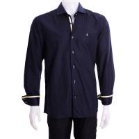 Imagem - Camisa Masculina Porto & CO Slim Fit Manga Longa P020  - 049601