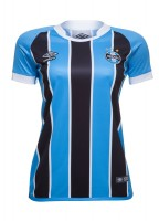 Imagem - Camisa Oficial Umbro Grêmio I 2017 Feminina 715767  - 054489