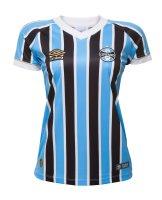 26347591cf Imagem - Camisa Oficial Feminina Umbro Grêmio OF I 2018 - 057404