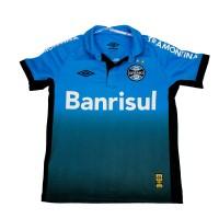 Imagem - Camisa Polo Oficial Umbro Grêmio OF 3 2015 Infantil 620364  - 042981
