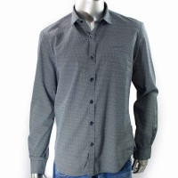 Imagem - Camisa Social Masculina Ellus Second Floor 20sb374  - 052880