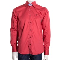 Imagem - Camisa Social Masculina Luiz Eugenio Slim Fio 80 8336  - 043500