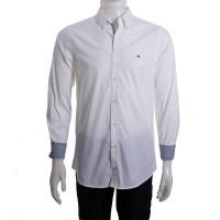 Imagem - Camisa Social Masculina Tommy Hilfiger Slim Th0857872321 - 043342