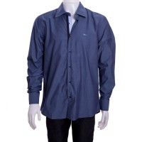 Imagem - Camisa Social Masculina W.Albann Slim Fio 50 10118  - 045216