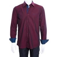 Imagem - Camisa Social Masculina W.Albann Slim Fio 50 10124  - 043487