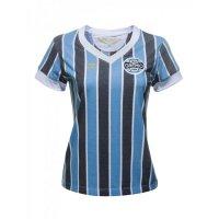 Imagem - Camisa Feminina Umbro Grêmio Retrô 1893 615296  - 050869