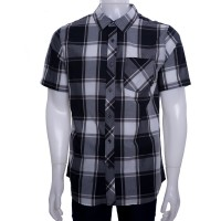Imagem - Camisa Xadrez Masculina Nike Killingsworth Manga Curta 523281-010  - 029918