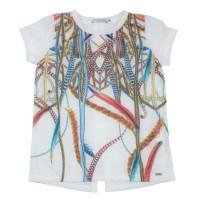 Imagem - Camiseta Infantil Feminina Acostamento Fashion 68802111  - 045557
