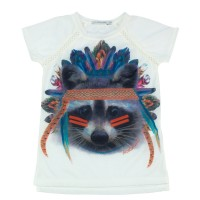 Imagem - Camiseta Infantil Feminina Acostamento Fashion 68802114  - 045559