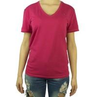 Imagem - Camiseta Feminina Tommy Hilfiger Gola V Th1m87657754 - 043339