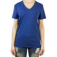 Imagem - Camiseta Feminina Tommy Hilfiger Gola V Th1m87657754 - 043340