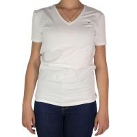 Imagem - Camiseta Feminina Tommy Hilfiger Gola V Th1m87657754 - 043336